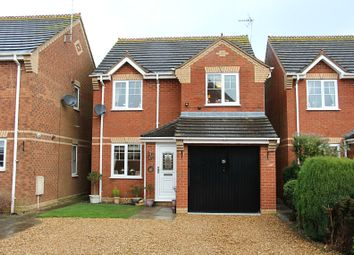 Thumbnail 3 bed detached house for sale in Harvester Way, Crowland, Peterborough