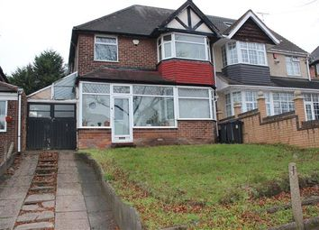 Thumbnail 3 bed semi-detached house for sale in Lindale Avenue, Hodge Hill, Birmingham