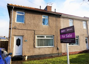 Thumbnail 3 bedroom semi-detached house for sale in Park Crescent, Newcastle Upon Tyne