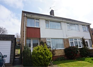 Thumbnail 3 bed semi-detached house for sale in Oak Tree Way, East Cowes