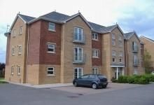 Thumbnail Block of flats to rent in Meas Dewi Pritchard, Bridgend