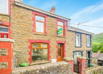 Thumbnail 3 bed terraced house for sale in Hill Street, Deri, Bargoed
