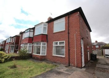 Thumbnail 2 bed flat to rent in Dene Crescent, Wallsend