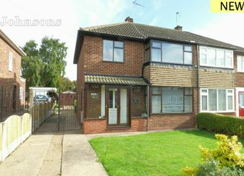 Thumbnail 3 bed semi-detached house for sale in Wicklow Road, Intake, Doncaster.