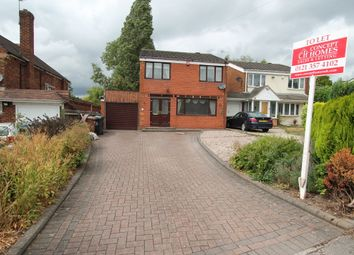 Thumbnail 4 bed detached house to rent in Bell Road, Walsall