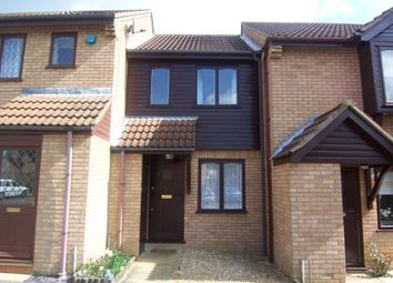 Thumbnail 1 bed terraced house to rent in Waterloo Court, Bletchley, Milton Keynes