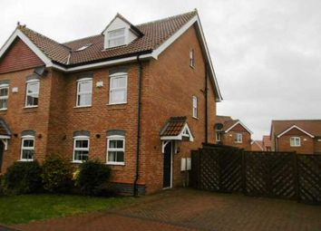 Thumbnail 3 bedroom semi-detached house to rent in Old School Close, Brigg