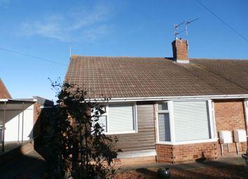 Thumbnail 2 bed semi-detached bungalow for sale in Leander Avenue, Choppington