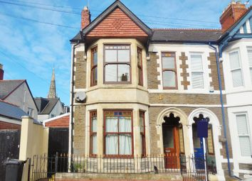 Thumbnail 4 bed terraced house for sale in Alma Road, Penylan, Cardiff