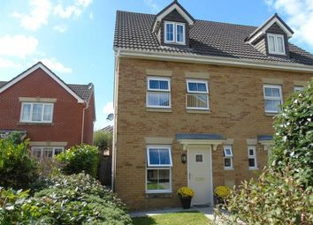 Thumbnail 3 bed town house for sale in Maes Y Wawr, Parc Brynheulog, Swansea