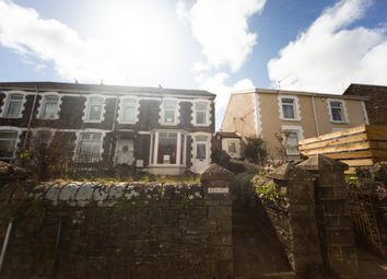 Thumbnail 4 bed terraced house for sale in Wood Road, Pontypridd