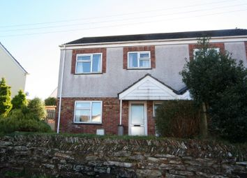 Thumbnail 4 bed semi-detached house to rent in Polstain Villas, Threemilestone, Truro