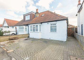 Thumbnail 3 bedroom semi-detached bungalow for sale in Brinkley Road, Worcester Park
