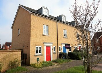 Thumbnail 3 bed town house for sale in Gilbert Way, Canterbury