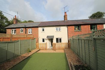 Thumbnail 2 bed terraced house to rent in Shrewton Road, Chitterne, Warminster