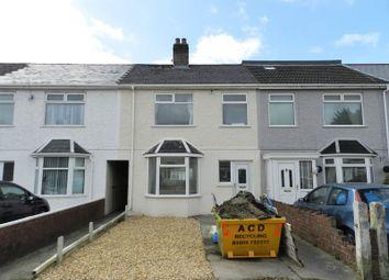 Thumbnail 3 bedroom terraced house for sale in Jubilee Crescent, Bridgend