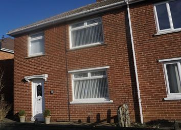 Thumbnail 3 bed terraced house to rent in Quantock Avenue, Chester Le Street
