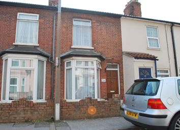 Thumbnail 2 bed terraced house to rent in Beaconsfield Road, Lowestoft