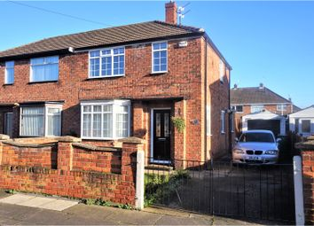 Thumbnail 2 bed semi-detached house for sale in Cartledge Avenue, Grimsby
