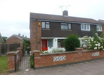 Thumbnail 3 bed semi-detached house to rent in Eastbourne Avenue, Corby