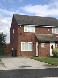 Thumbnail 2 bed semi-detached house to rent in Elworthy Avenue, Halewood, Liverpool