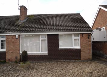 Thumbnail 2 bed semi-detached bungalow to rent in Severn Road, Oadby, Leicester