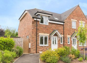 Thumbnail 2 bedroom semi-detached house for sale in Martin Close, Botley, Oxford