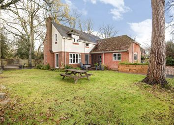 New Mill Lane, Eversley, Hook RG27. 4 bed detached house for sale