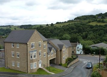 Thumbnail 2 bed flat for sale in Silk Mill Chase, Ripponden, Sowerby Bridge