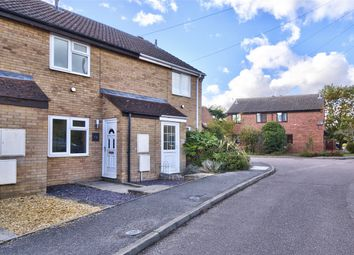 Thumbnail 2 bed terraced house for sale in Manor Gardens, Buckden, St Neots, Cambridgeshire