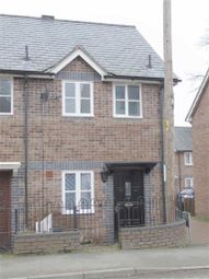 Thumbnail 2 bed end terrace house for sale in 7, Green Square, High Street, Llanfyllin, Powys