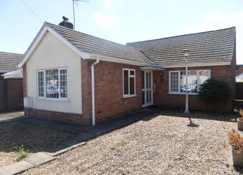 Thumbnail 3 bed detached bungalow for sale in Newlands Avenue, March