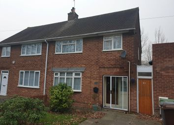 Thumbnail 3 bedroom property to rent in Ashmore Avenue, Wednesfield, Wolverhampton