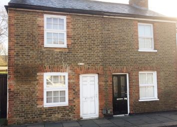 Thumbnail 2 bed semi-detached house to rent in Dane Street, Bishop's Stortford