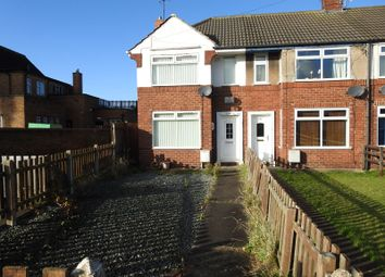 Thumbnail 2 bed end terrace house to rent in Hotham Road South, Hull