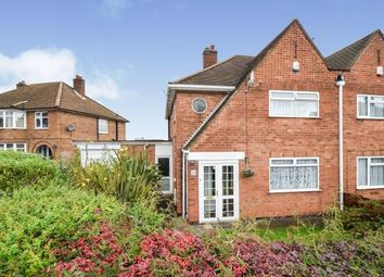 Thumbnail 3 bed semi-detached house for sale in Woodgate Drive, Birstall, Leicester, Leicestershire