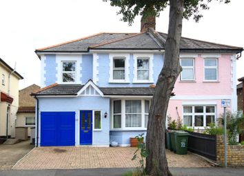 Thumbnail 4 bed semi-detached house for sale in Lewis Road, Sutton, Surrey