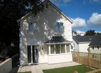 Thumbnail 3 bed detached house to rent in Highwood Close, Courtenay Road, Newton Abbot, Devon