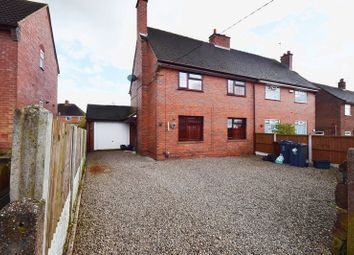 Thumbnail 3 bed semi-detached house for sale in Stonehouse Road, Werrington, Stoke-On-Trent