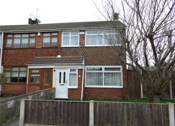 Thumbnail 3 bed end terrace house for sale in Parkside Drive, Liverpool, Merseyside