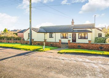Thumbnail 4 bedroom detached bungalow for sale in Back Road, Murrow, Wisbech