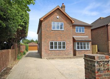 Thumbnail 4 bed detached house for sale in York Avenue, New Milton
