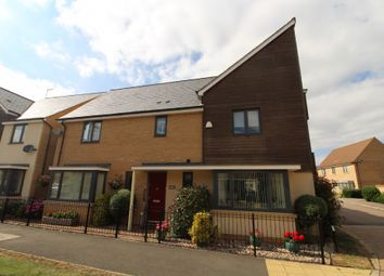Thumbnail 4 bed detached house for sale in Selkirk Drive, Oakridge Park, Milton Keynes, Buckinghamshire