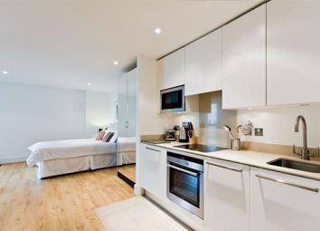 Thumbnail  Studio to rent in Kestrel House, St Georges Wharf, London