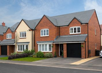 """Thumbnail 4 bed detached house for sale in """"The Durham"""" at Stafford Road, Eccleshall, Stafford"""
