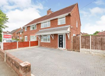 Thumbnail 3 bed semi-detached house for sale in Kitchen Lane, Wednesfield, Wolverhampton