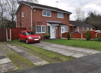 Thumbnail 2 bed semi-detached house for sale in Colwyn Close, Warrington, Warrington