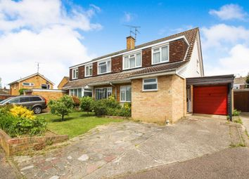 Thumbnail 3 bed semi-detached house for sale in Heather Close, Horsham
