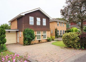Thumbnail 4 bedroom detached house for sale in Bromford Close, Oxted