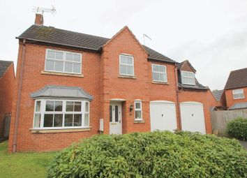 Thumbnail 5 bed detached house for sale in St. Laurence Way, Bidford-On-Avon, Alcester